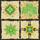 St. Patrick's Day designs set Royalty Free Stock Photo