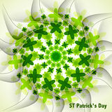 St. patrick's day fantastic background Stock Photo