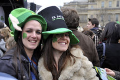 St Patrick's Day Festival in London Royalty Free Stock Photos