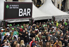 St Patrick's Day Festival in London Royalty Free Stock Photo