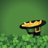 St. Patrick's Day festive frame vector illustration