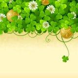 St. Patrick's Day frame 2 vector illustration