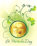 St. Patrick's Day frame Stock Images