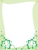 St. Patrick's Day frame Royalty Free Stock Photos