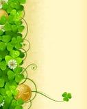 St. Patrick's Day frame 3 Stock Images