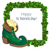 St. Patrick's Day frame Royalty Free Stock Photos
