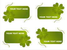 St. Patrick S Day Frames Royalty Free Stock Photo