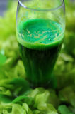 St Patrick's day green beer close up Royalty Free Stock Photo