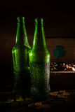 St Patrick`s day green beer Stock Photo