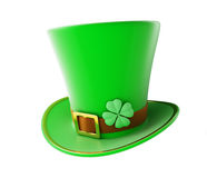 St. Patrick's day green hat Royalty Free Stock Images
