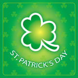 St. Patrick's Day Greeting Card Stock Photography