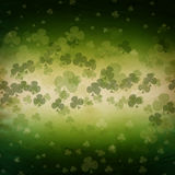 St. Patrick's Day greeting card  on green background Royalty Free Stock Image