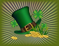 St. Patrick`s Day greeting. Royalty Free Stock Images