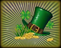 St. Patrick`s Day greeting. Stock Photos