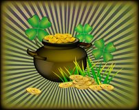 St. Patrick`s Day greeting. Stock Image