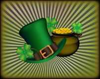 St. Patrick`s Day greeting. Royalty Free Stock Photo