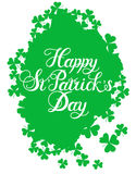 St. Patrick s Day greeting. Stock Photography