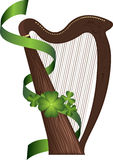 St. Patrick's Day harp Stock Image