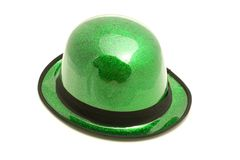 St. Patrick's Day Hat. This is a photo of a St. Patrick's Day hat Royalty Free Stock Images