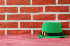 St. Patrick`s day hat Royalty Free Stock Photography
