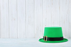 St. Patrick`s day hat Royalty Free Stock Photos