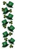 St Patrick's Day Hats and Shamrocks Stock Image