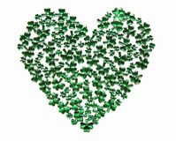 St Patrick's Day Heart Stock Photography