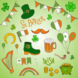 St. Patrick s Day holiday greeting card Royalty Free Stock Photography