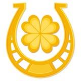 St Patrick's Day horseshoe Royalty Free Stock Image