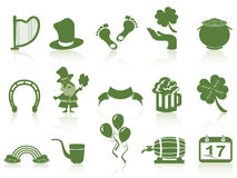 St patrick's day icon Royalty Free Stock Photo