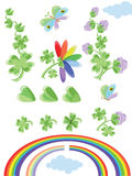 St. Patrick's Day icon set Royalty Free Stock Image