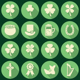 St. Patricks Day icons, vector Royalty Free Stock Image