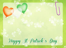 St.Patrick's Day. Illustration of St.Patrick's Day royalty free illustration