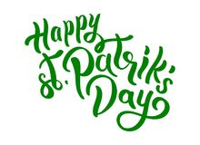 St.Patrick `s Day royalty free illustration