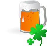 St Patrick's Day - Irish beer Stock Photo