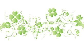 St. Patrick's Day Irish Clover Stock Photography
