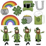 St. Patrick's Day Irish Graphics Royalty Free Stock Photography