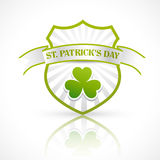St patrick's day label vector Stock Image