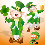 St. Patrick's Day Leprechaun Royalty Free Stock Photo