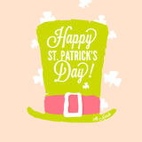 St. Patrick's day - leprechaun top hat Royalty Free Stock Photography