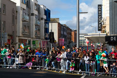 St. Patrick's Day in Limerick Royalty Free Stock Photo