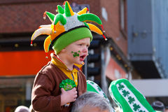 St. Patrick's Day in Limerick Stock Photography