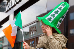St. Patrick's Day in Limerick Stock Image