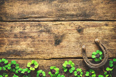St. Patrick`s day, lucky charms Stock Image