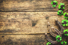 St. Patrick`s day, lucky charms Royalty Free Stock Photos