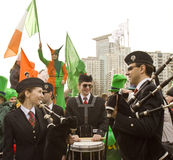 St. Patrick`s day in Moscow Royalty Free Stock Photo