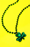St Patrick's Day necklace Royalty Free Stock Image
