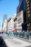 St. patrick's day in new york Stock Photos