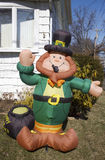 St. Patrick's Day outdoor decoration Stock Photo