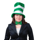 St. Patrick's Day Outfit 3 royalty free stock images